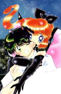 Asuka e Meimi- le tazzine di yoko 2