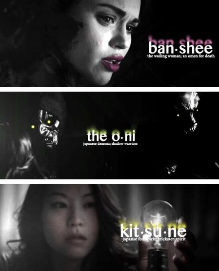 Banshee-oni-kitsune-le tazzine di yoko