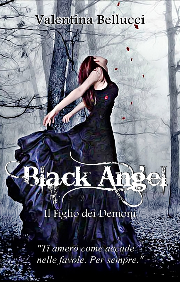 Black angel cover- le tazzine di yoko