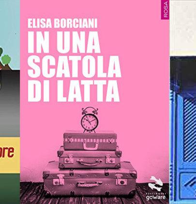 Nella biscottiera tre romanzi contemporanei: In una scatola di latta – Tre nerd due capre e una bionda – La bolla d'aria
