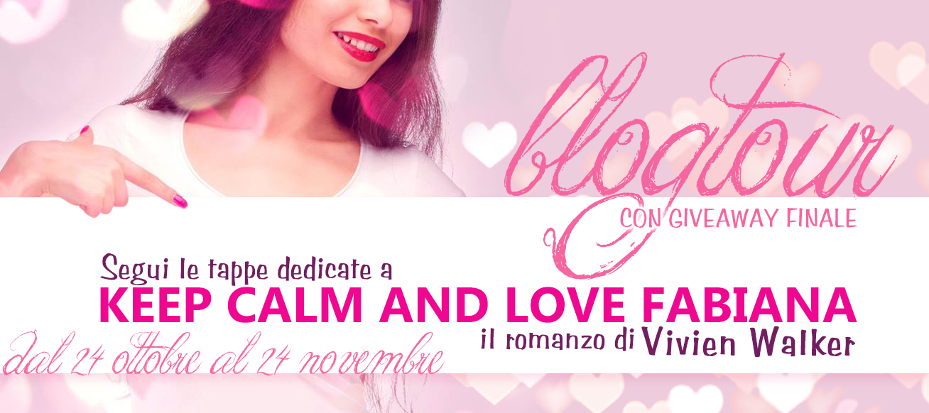 KEEP CALM AND LOVE FABIANA - banner lungo