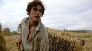 Sam Heughan as Jamie Fraser-le tazzine di yoko