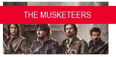 The Musketeers serietv le tazzine di yoko