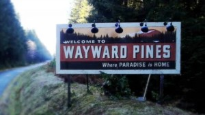 Wayward Pines cartello-le tazzine di yoko