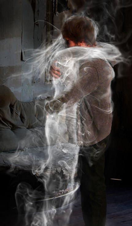 abbraccio fantasma