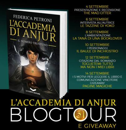 """BlogTour + Giveaway dedicato a """"L'Accademia di Anjur"""" – 2^ tappa intervista all'autrice"""