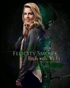 arrow- season 2-felicity e arrow