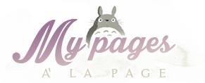 my page a la page banner su le tazzine di yoko