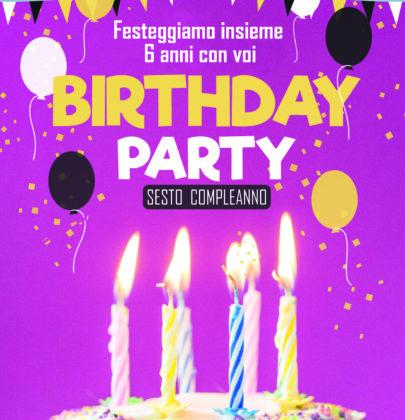 Oggi festeggiamo il sesto compleanno del blog ^^