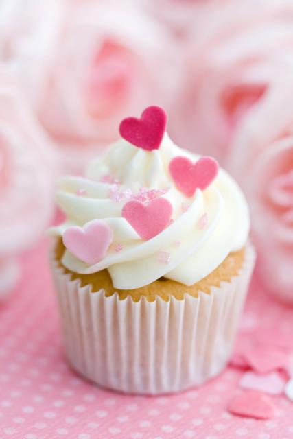 cupcake-con-cuoricini