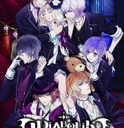 Diabolik lovers, l'anime con vampiri glam, dark e sadici