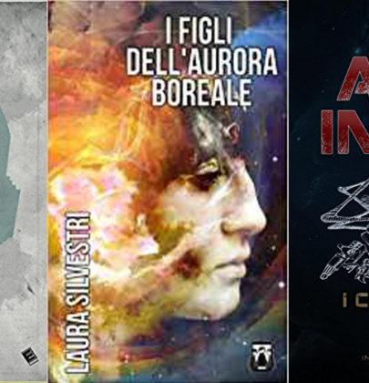 Nella biscottiera tre romanzi di fantascienza:  I Figli dell'aurora boreale – Memorie di un cyborg – Armainfero