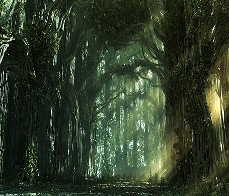 foresta fantasy - le tazzine di yoko