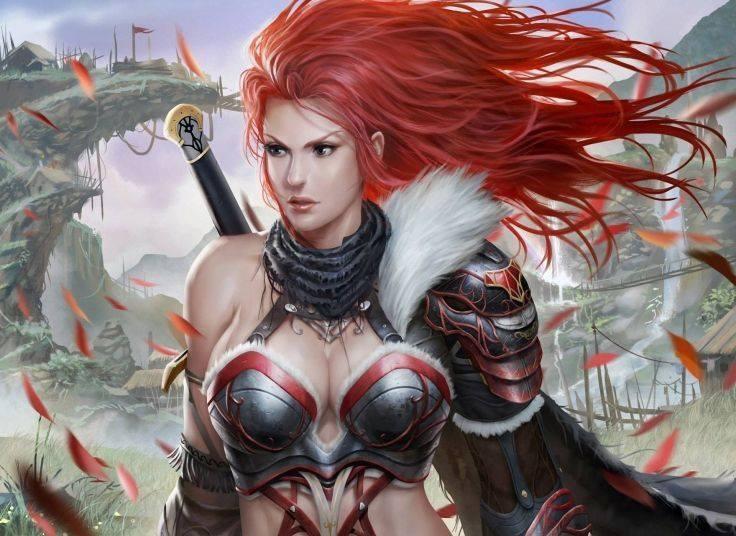 guerriera dai capelli rossi-le tazzine di yoko