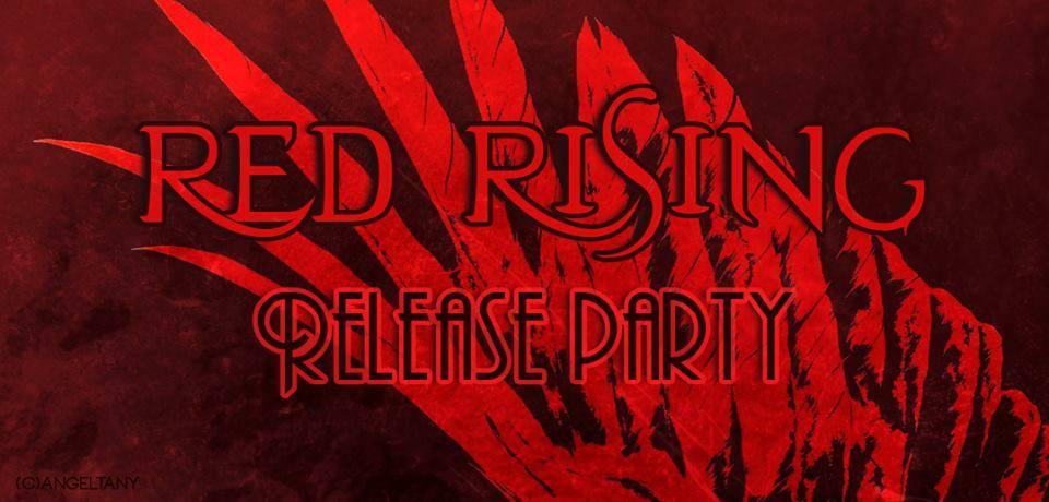 red rising release party banner bruni le tazzine di yoko