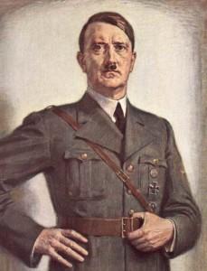 ritratto di Hitler-le tazzine di yoko