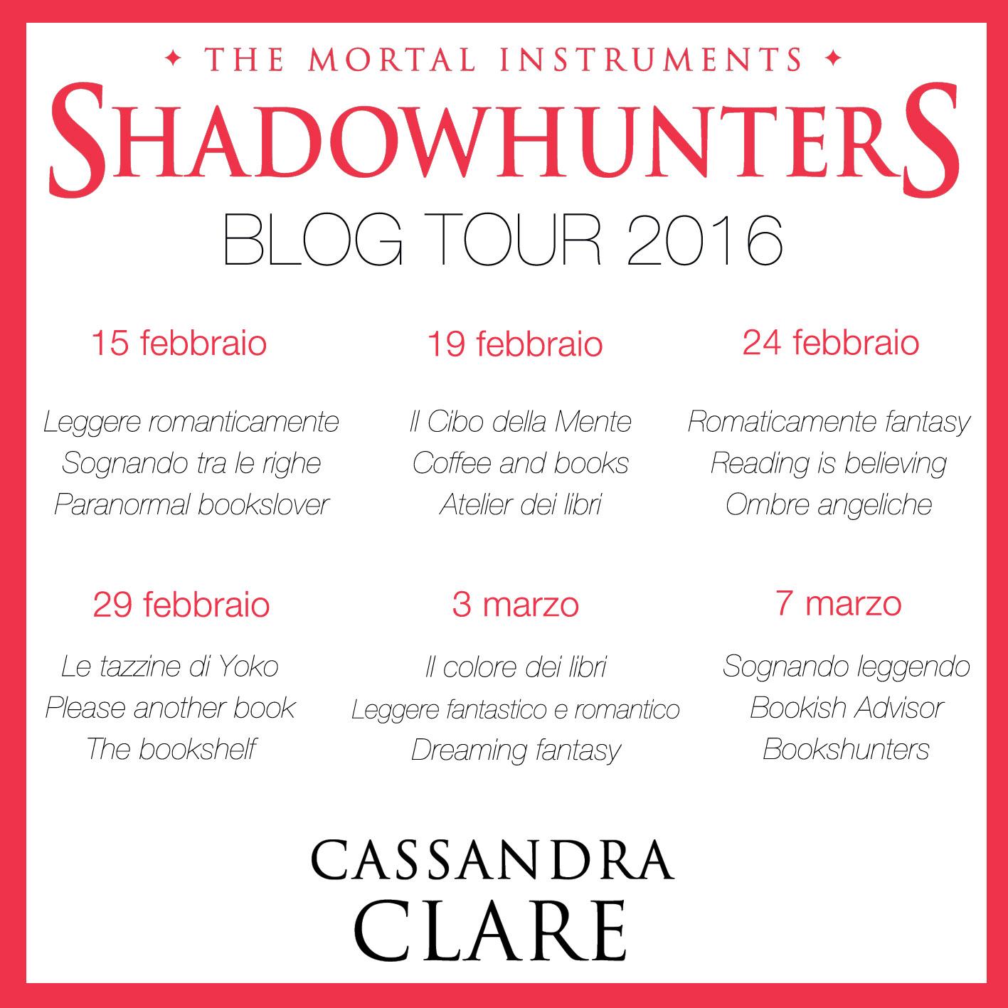 shadowhunters blogtour tappe le tazzine di yoko
