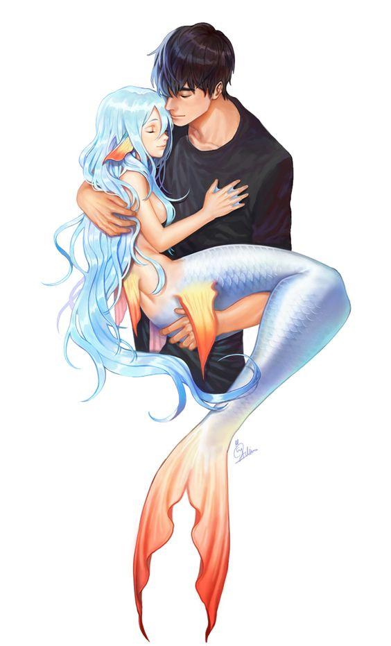 sirena-coppia-abbraccio
