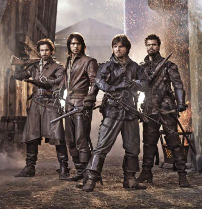 Recensione alla serie tv The Musketeers – stagione 1