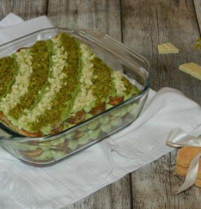 Terzo post dedicato alla special guest di novembre: la ricetta del tiramisù al pistacchio