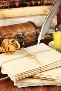 vecchie lettere-le tazzine di yoko