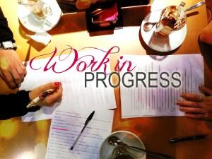 work in progress - le tazzine di yoko