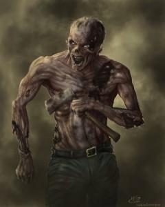 zombie fantasy art-le tazzine di yoko