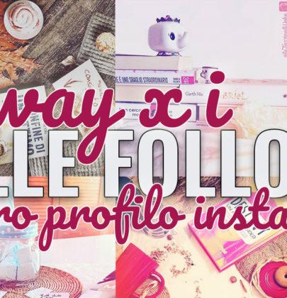 Estrazione dei vintori dei premi per festeggiare i nostri 1000 followers su instagram