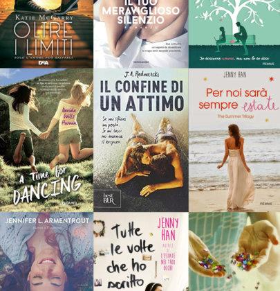 9 romanzi young adult romantici che vi consiglio