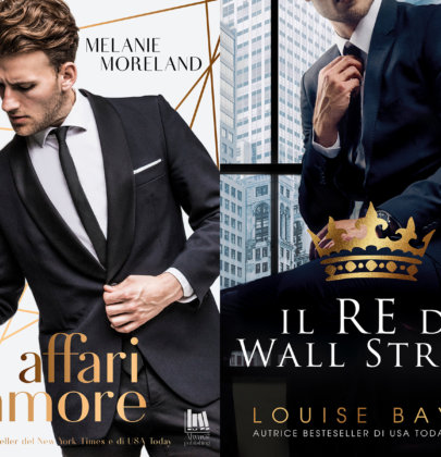 """Affari d'amore"" e ""Il Re di Wall Street"", due uscite targate Always Publishing"