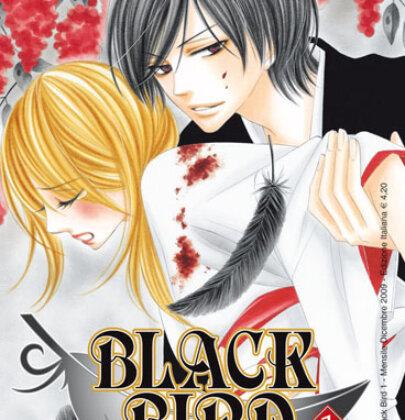 """Tengu, ironia, amore e brividi in """"Black Bird"""", shoujo di Kanoko Sakurakoji"""