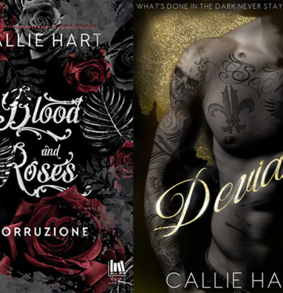 "Tazzine a confronto: cover italiana VS cover originale di ""Blood and Roses. Corruzione"" di Callie Hart"