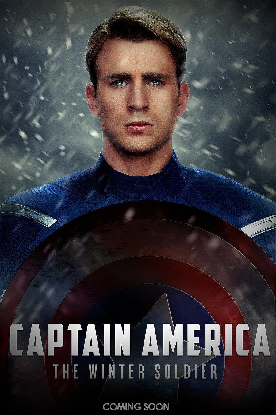 Marvel Capitan America The Winter Soldier