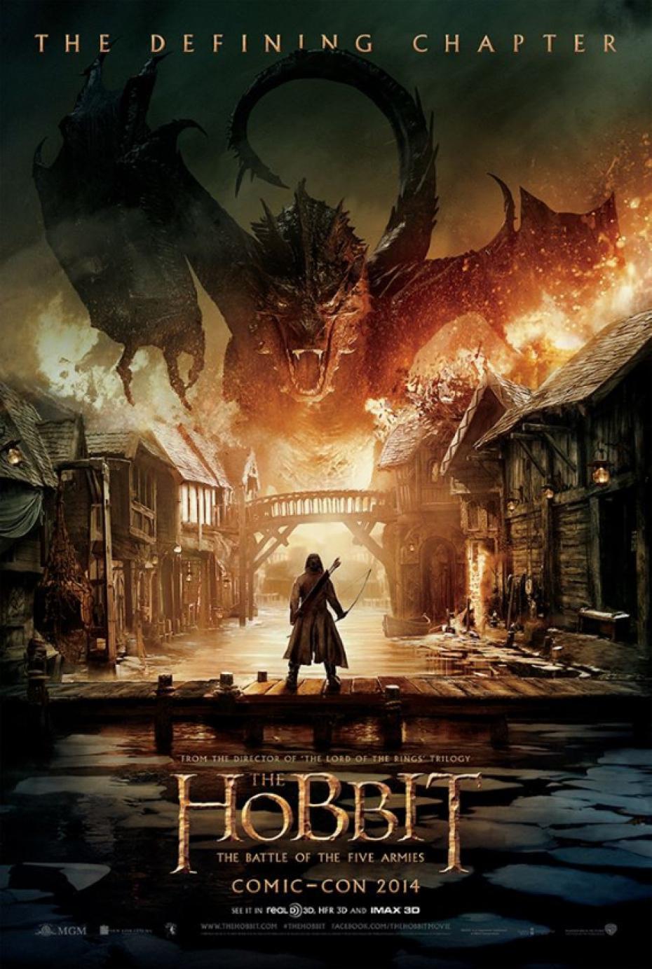 Hobbit Locandina-le tazzine di yoko