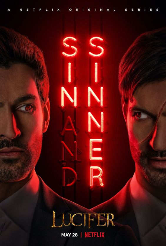 Lucifer locandina quinta stagione della serietv