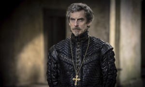 Peter Capaldi as Cardinal Richelieu in the BBC's The Musketeers.