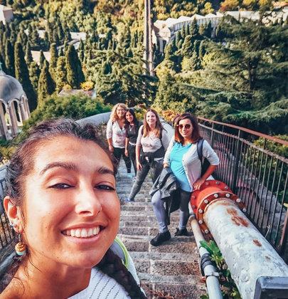 Tazzine in fuga: gita all'Acquedotto Storico di Genova