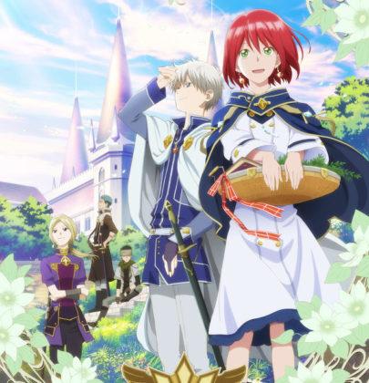 """""""Akagami no Shirayuki hime"""", uno shoujo anime con un bel principe e la sua erborista"""