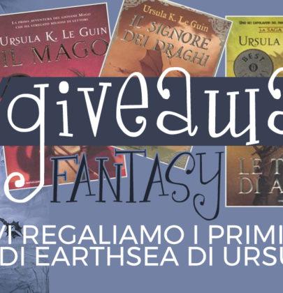 Estrazione del giveaway fantasy con in palio la saga di Earthsea