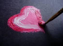 dipinto d'amore-le tazzine di yoko