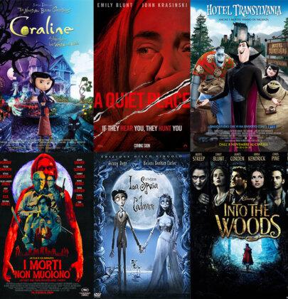 10 film (non paurosi) perfetti per la serata di Halloween 🎃