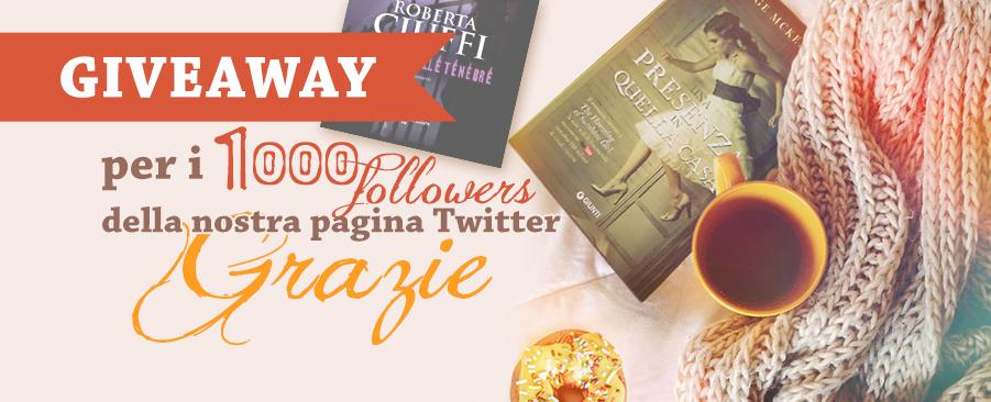 giveaway mille followers pagina twitter le tazzine di yoko