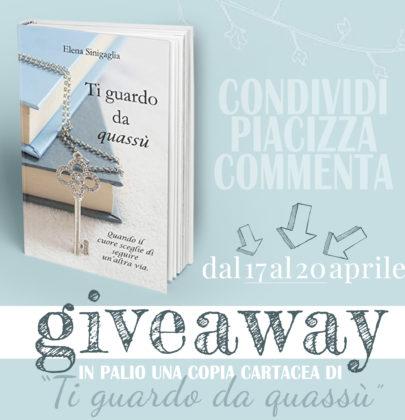 """Ecco il vincitore del giveaway dedicato a """"Ti guardo da quassù"""" di Elena Sinigaglia"""