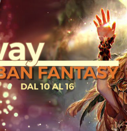 Giveaway a base di urban fantasy