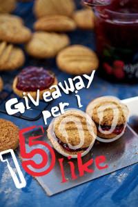 giveaway x 1500 like pagina facebook le tazzine di yoko
