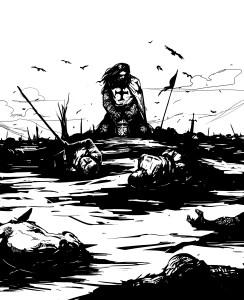 illustrazione-i cavalieri del nord-le tazzine di yoko