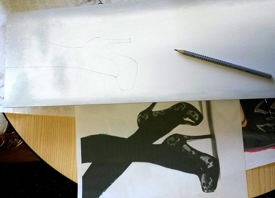 inizio scarpe - le tazzine di yoko