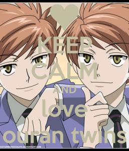 keep-calm-and-love-ouran-twins-le tazzine di yoko