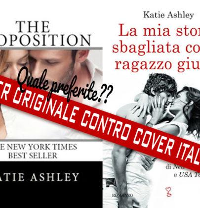 """Tazzine a confronto: cover italiana VS cover originale di """"La mia storia sbagliata con il ragazzo giusto"""""""