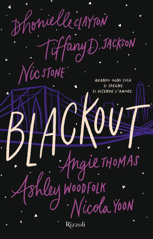 Blackout cover libro su Le Tazzine di Yoko